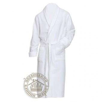Халат махровый белый, размер ХЛ