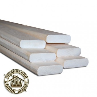 Полок для бани липа (24*100 мм), 3 м