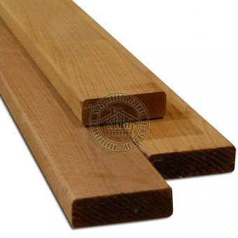 Полок для бани термолипа (24*80 мм), 1,9-3 м