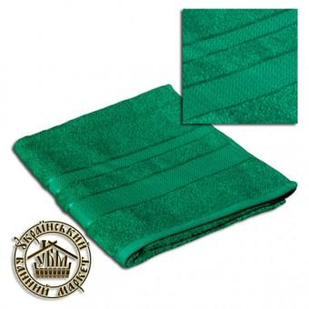 Махровое полотенце изумруд (50*90)