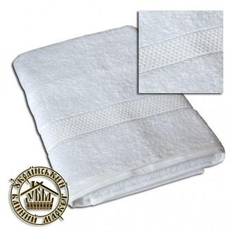 Махровое полотенце белое (70*140)