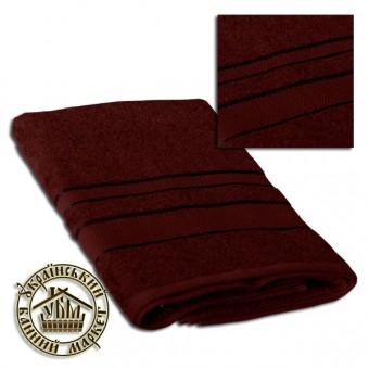 Махровое полотенце темно-коричневое (70*140)