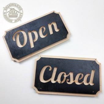 "Табличка двухсторонняя ""Open Closed"""