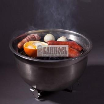 Настольный мангал - барбекю (2 в 1)