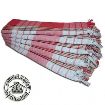 Полотенце для хаммам (красное)