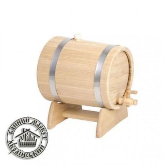 Жбан - бочка для вина и коньяка, 3 л (нерж)