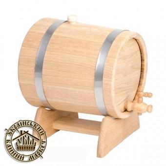 Жбан - бочка для вина и коньяка, 10 л (нерж)