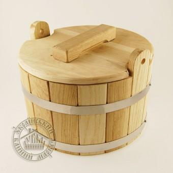 Запарник дуб, 8 л (модель № 2)