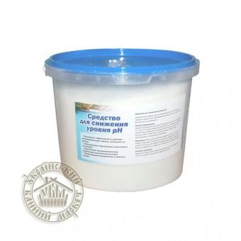 Регулятор уровня pH в бассейне  pH- (5 кг) (Германия)