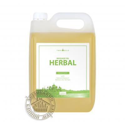 """Массажное масло """"Herbal"""" 5л"""
