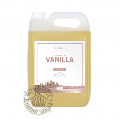 """Массажное масло """"Vanilla"""" 5л"""