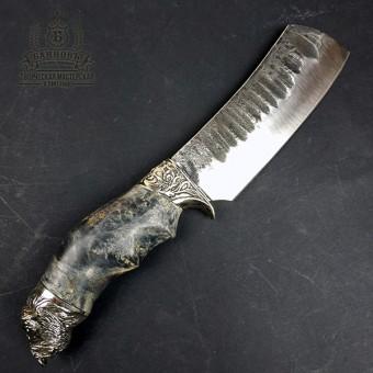 """Нож ручной работы """"Буйвол"""" 9ХС"""
