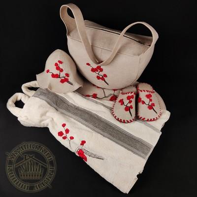 Подарочный женский банный набор