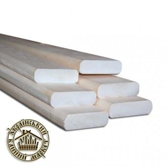 Полок для бани липа (35*24 мм), 2-3 м
