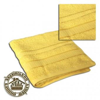 Махровое полотенце желтое (40*70)