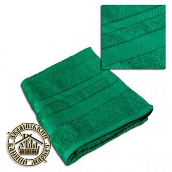 Махровое полотенце изумруд (40*70)