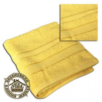 Махровое полотенце желтое (50*90)