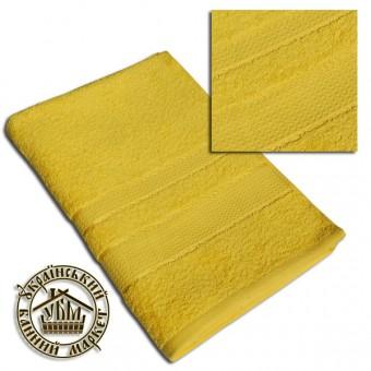 Махровое полотенце желтое (70*140)