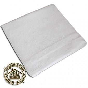 Махровое полотенце белое