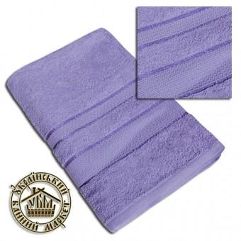 Махровое полотенце сливовое (70*140)