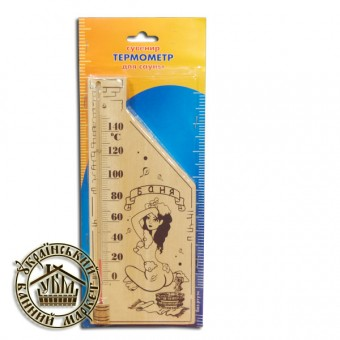 Термометр для бани (ТС исп. 5, №3) девушка, баня