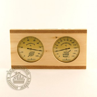Термометр + гидрометр (двойной), Украина