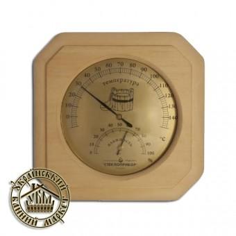Термометр + гидрометр (одинарный) № 1, Украина
