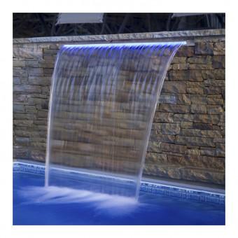 Стеновой водопад EMAUX PB 300-150(L) с LED подсветкой