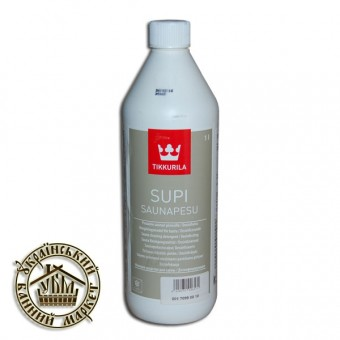 Моющее средство для полок в бане, Супи Саунапесу, 1 л