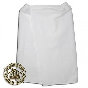 Парео банное вафельное белое (0,60*1,35 м)