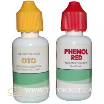 Капли для тестера (pH и хлор)