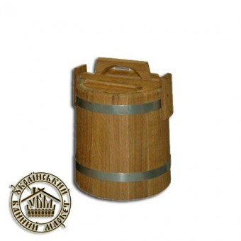 Кадка для солений дубовая, 3 л (БонДом)