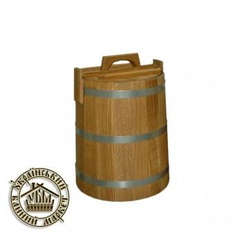 Кадка для солений дубовая, 15 л (БонДом)