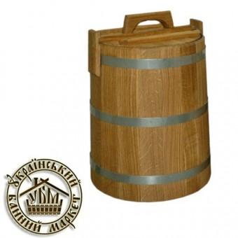 Кадка для солений дубовая, 30 л (БонДом)