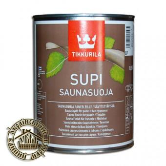 Пропитка для стен и потолка в бане, Супи Саунасуоя 0,9 л