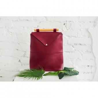 Женский кожаный рюкзак Skins